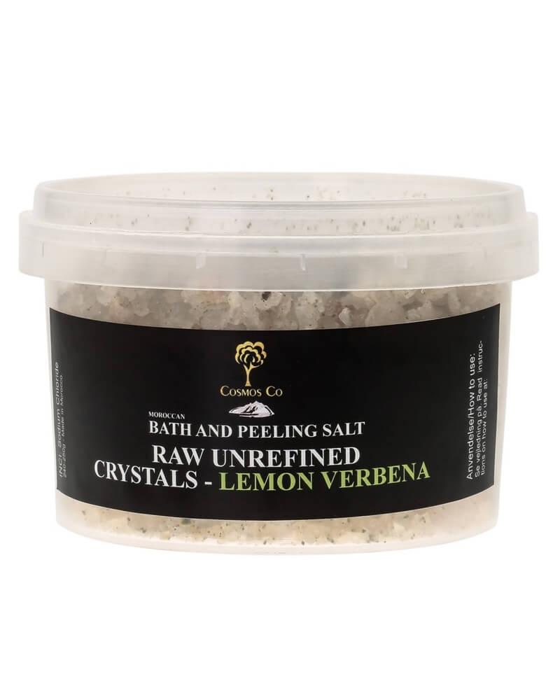 Cosmos Co Bath And Peeling Salt Raw Unrefined Crystals - Lemon Verbena (U)