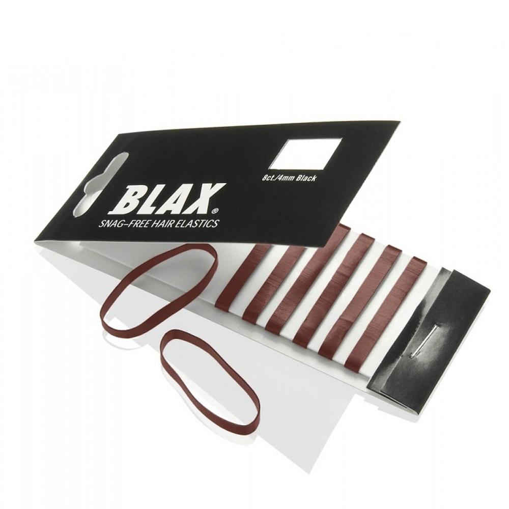 Blax - Snag-Free Hair Band BROWN 4mm