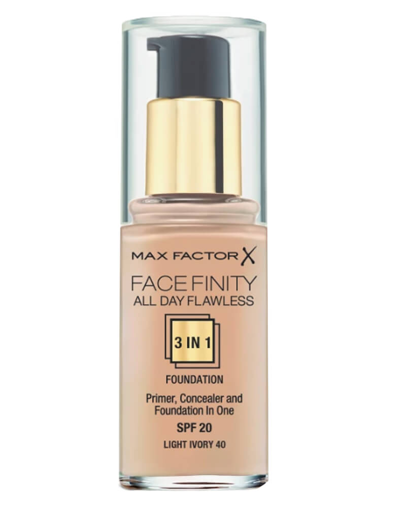Max Factor Facefinity 3-in-1 Foundation Light Ivory 40 30 ml