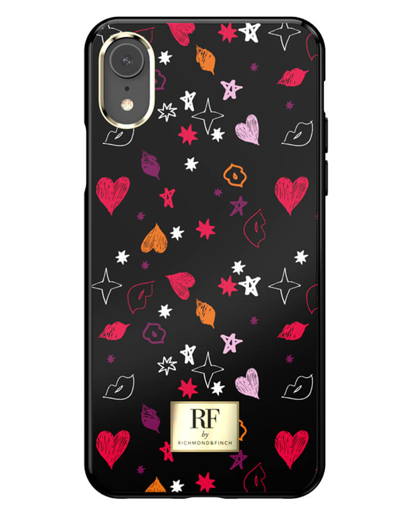 RF By Richmond And Finch Heart And Kisses iPhone Xr Cover