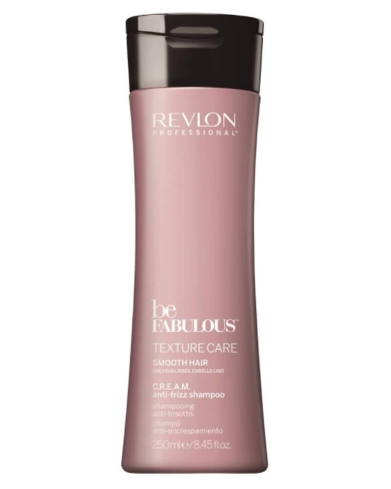 Revlon Be Fabulous Texture Care Smooth Hair Shampoo 250 ml
