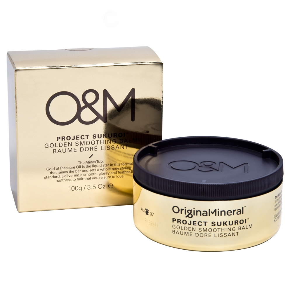 O&M Project Sukuroi Gold Smoothing Balm (Guld)