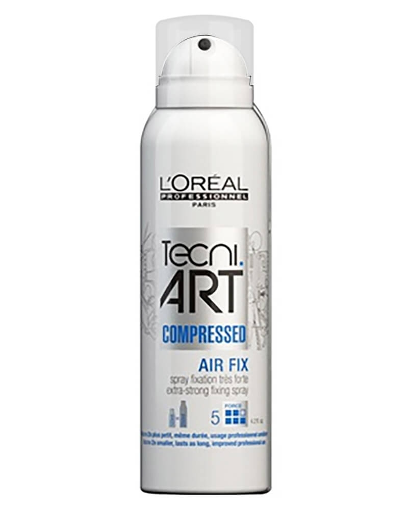 Loreal Tecni.art Air Fix, Extra-Strong Fixing Spray Compressed 125 ml