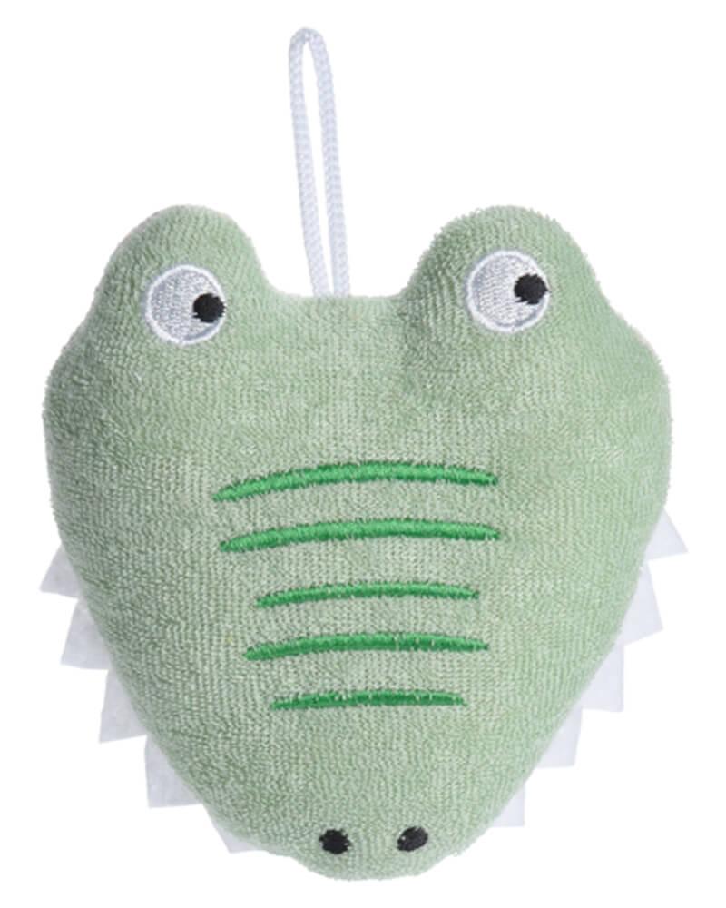 Baby Basic Bath Sponge Crocodile