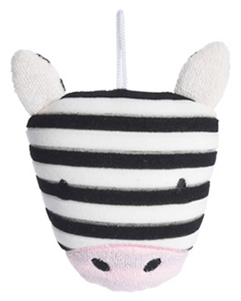 Baby Basic Bath Sponge Zebra