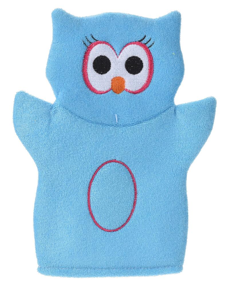 Baby Basic Bath Glove Owl