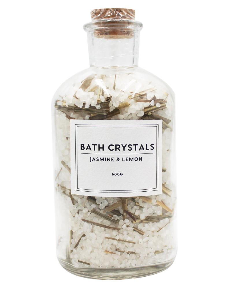 Wonder Spa Jasmine & Lemon Bath Crystals 600 g