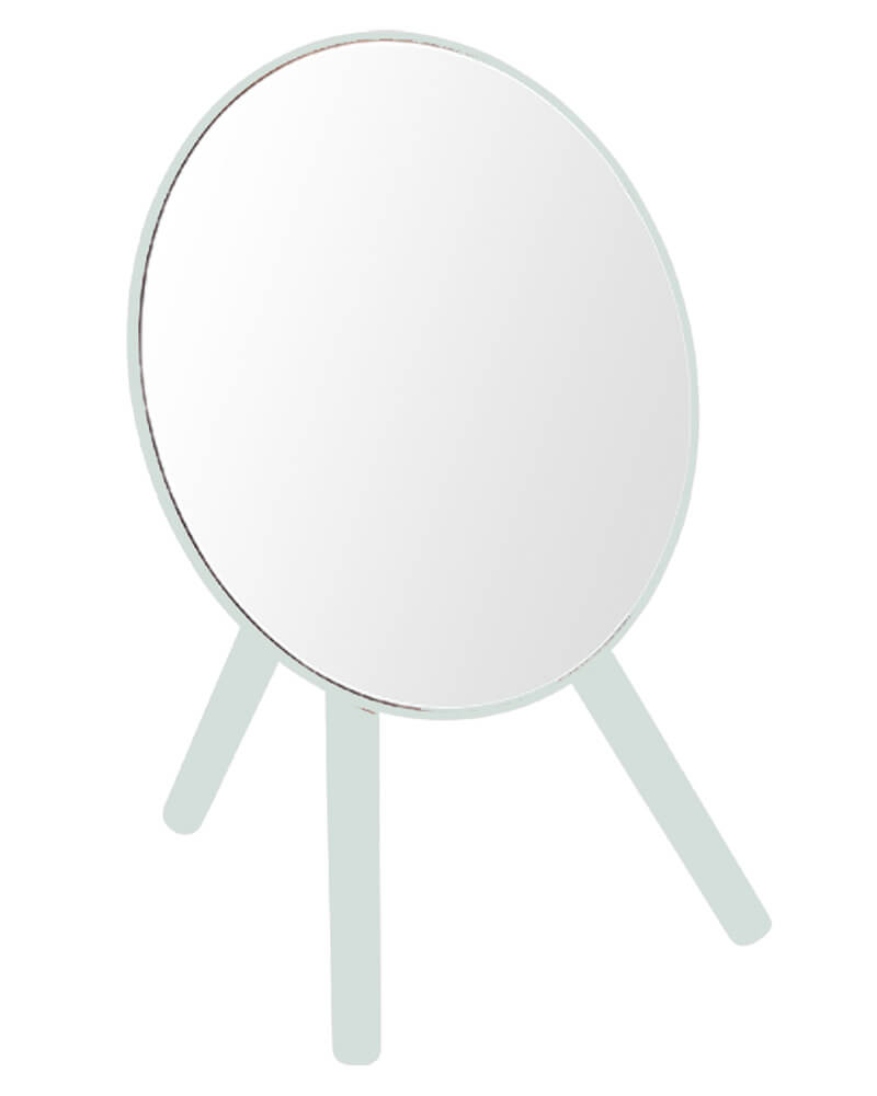 Bathroom Solutions Tripod Mirror Green