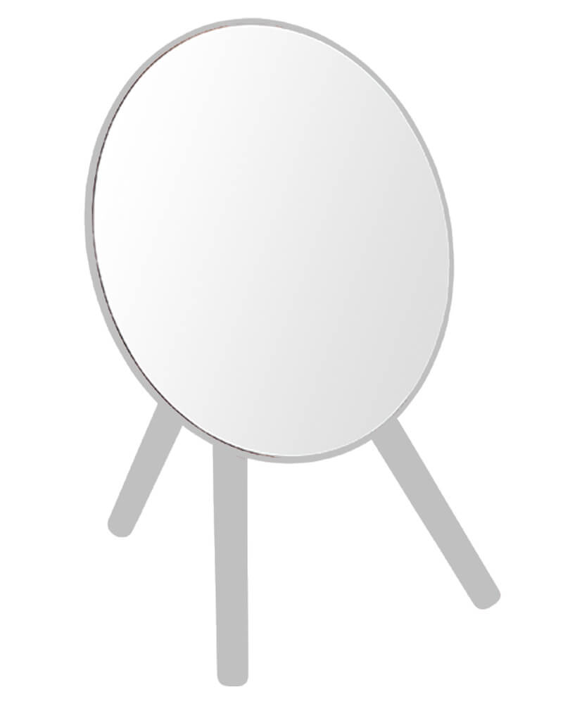 Bathroom Solutions Tripod Mirror Grey