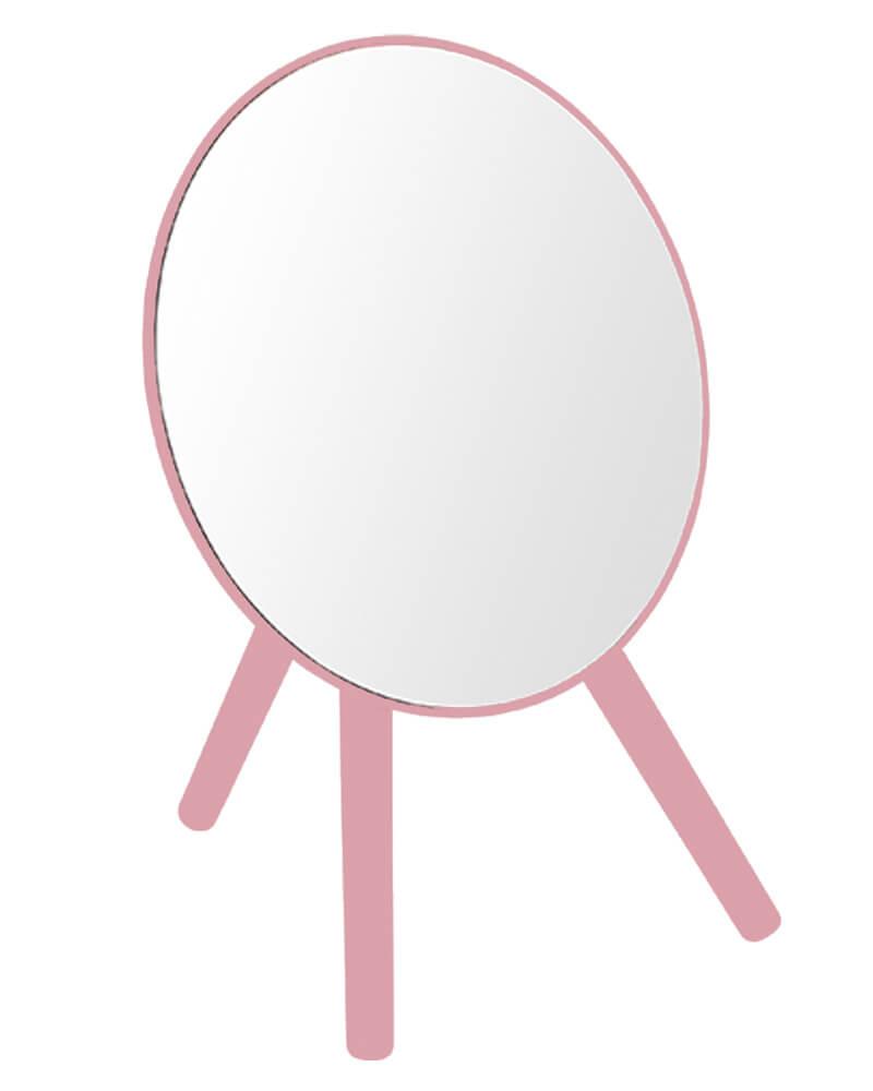 Bathroom Solutions Tripod Mirror Pink