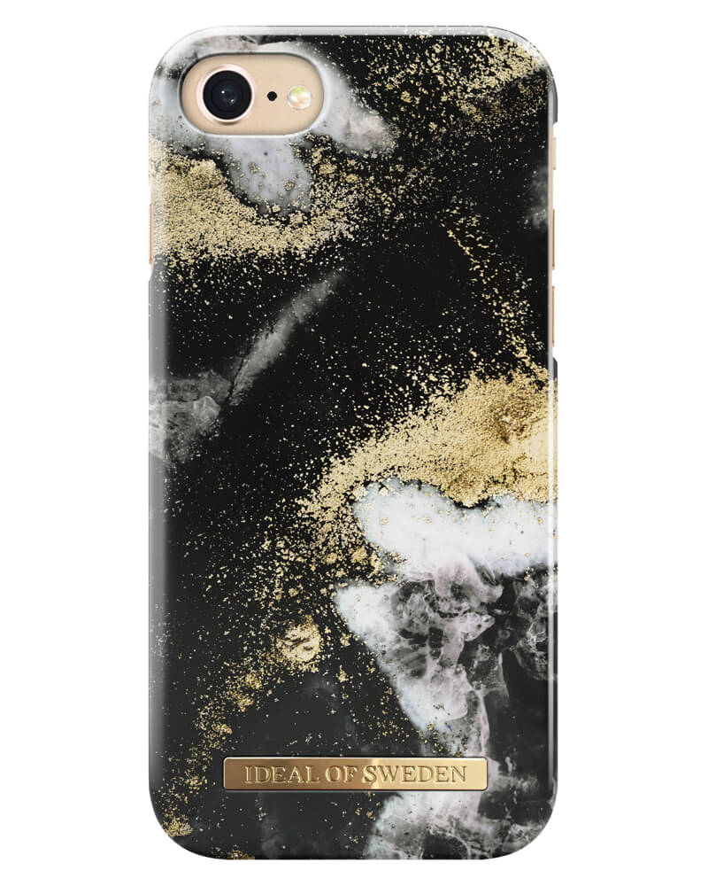 iDeal Of Sweden Cover Black Galaxy Marble iPhone 6/6S/7/8