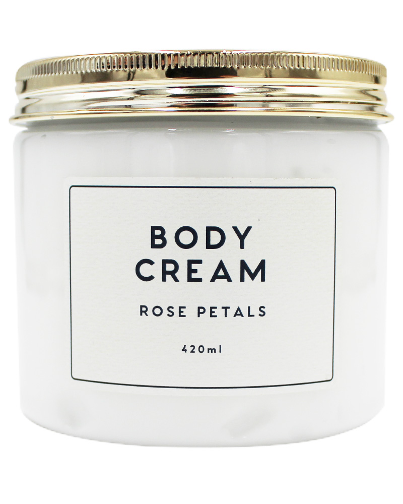 Wonder Spa Rose Petals Body Cream 420 ml
