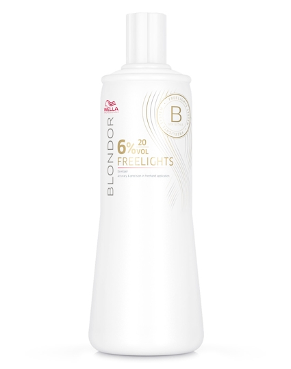 Wella Blondor Freelights Oxydant 6%, 20Vol 1000 ml