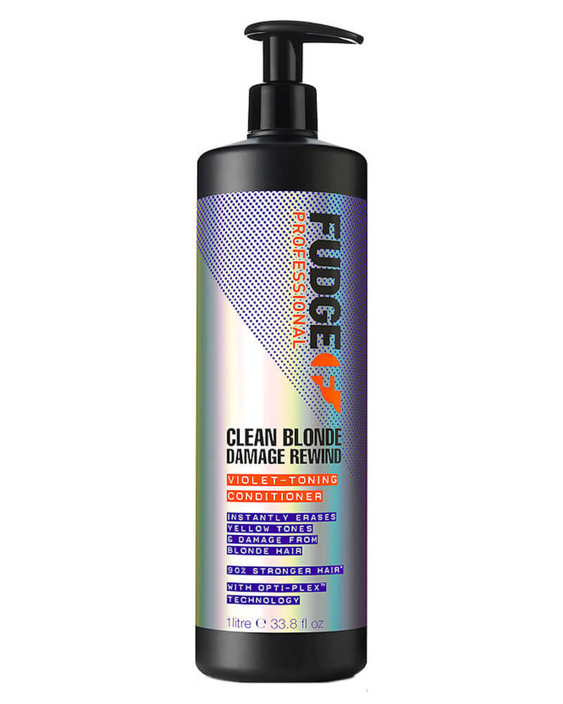 Fudge Clean Blonde Damage Rewind Violet-Toning Conditioner 1000 ml