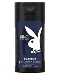 Playboy King Of The Game 2in1 Shower Gel & Shampoo 250 ml