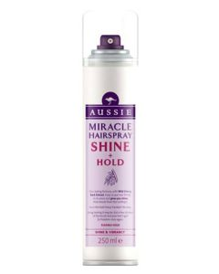 Aussie Miracle Hairspray Shine + Hold 250 ml