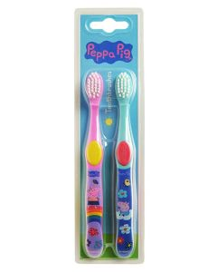 Peppa Pig Toothbrush 2 pieces