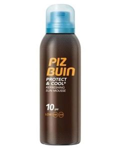 Piz Buin Protect & Cool Refreshing Sun Mousse SPF 10 150 ml