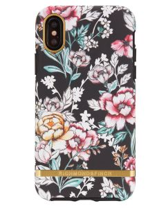Richmond And Finch Black Floral iPhone X/Xs Cover (U)