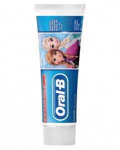 Oral B Kids 3+ With Sugar Shield Tandpasta 75 ml