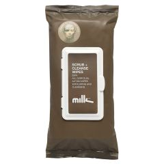 Milk & Co Scrub + Cleanse Wipes 25 stk
