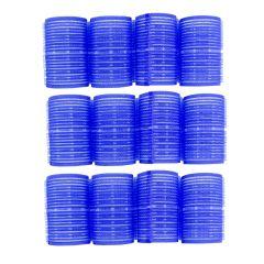 Velcrocurler blå 40mm 3011890 12stk