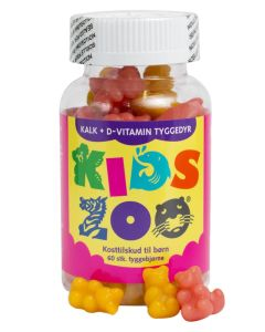 Kids Zoo Kalk og D-Vitamin