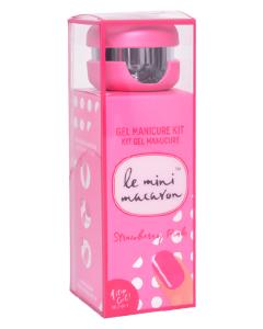 Le Mini Macaron Gel Manicure Kit Strawberry Pink 10 ml
