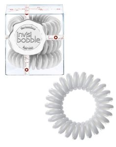 Invisibobble Grey - Foggy Nights 3 stk. pakke