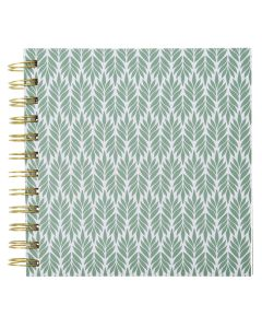 Krea Note Book Green Leafs
