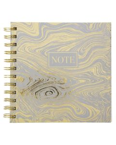Krea Note Book Gold Waves
