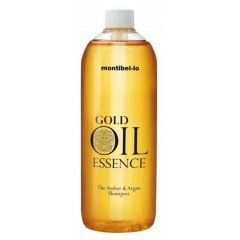 Montibello Gold Oil Essence Amber And Argan Shampoo (Incl Pumpe) 1000 ml