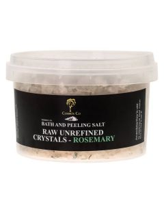 Cosmos Co Bath And Peeling Salt Raw Unrefined Crystals - Rosemary (U)
