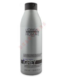 Loreal Homme Grey - shampoo (U) 250 ml