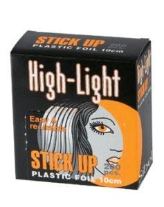 Sibel High-Light Stick Up Orange Plastic Foil 10cm - 4333010