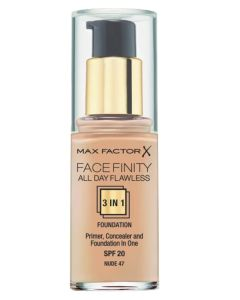 Max Factor Facefinity 3 in 1 Nude 47 - 30 ml
