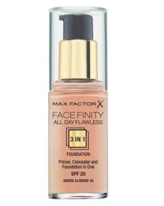 Max Factor Facefinity 3 in 1 Warm Almond 45 - 30 ml