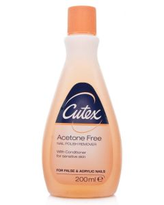 Cutex Acetone Free Nail Polish Remover 200 ml