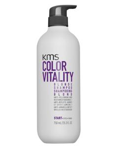 KMS ColorVitality Blonde Shampoo (N) 750 ml