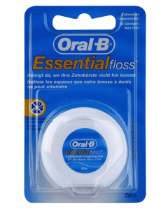 Oral B Essential floss - waxed