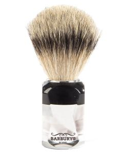 Barburys Shaving Brush - Light Crystal