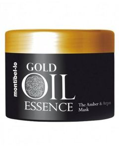 Montibello Gold Oil Essence The Amber And Argan Mask (Incl Pumpe) 500 ml