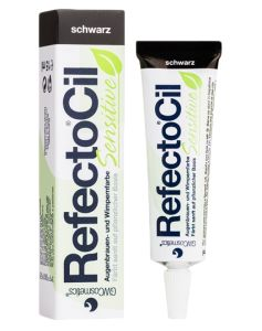 Refectocil Sensitive Bryn og Vippefarve - Black 15 ml