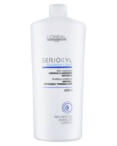 Loreal Serioxyl Bodyfying Conditioner Natural Thinning Hair (Blå) 1000 ml
