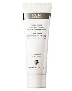 REN Flash Rinse 1 Minute Facial 75 ml