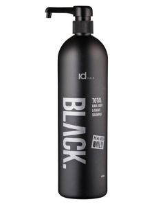 id Hair Black Total - Hair, Body & Shave Shampoo 1000 ml