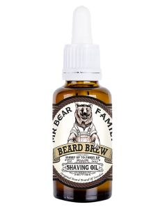 Mr Bear Family Beard Brew Shaving Oil 30 ml
