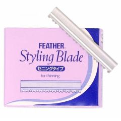 Feather Styling Blade, For Thinning TG-10 1 x 10stk