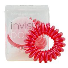 Invisibobble - Rød 3 stk.
