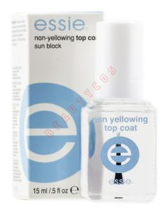 Essie Non-Yellowing Top Coat - Sun Block 15 ml